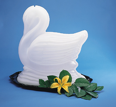 [ ICE SCULPTURE, SWAN - DIS005 - ]