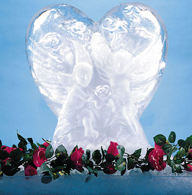 [ ICE SCULPTURE, HEART - DIS006  ]