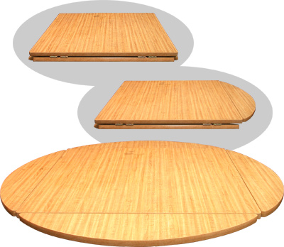 DROP LEAF TABLE TOP NATURAL X Restaurant Equipment And - Table top for restaurant supply