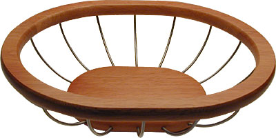 [ BASKET, S/S, WIRED WOOD, OVL,  ]
