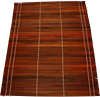 "[ PLACE MAT, BAMBOO, BROWN, 17.25""X13"" ]"