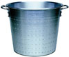 "[ FOOD PAIL W/HOLES, ALUM., 13"" ]"