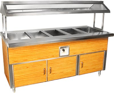 BUFFET TABLE, S/S FORMICA 84