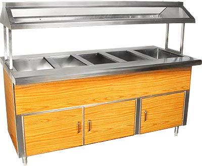 ICE COLD BUFFET TABLE, S/S+FORMICA-60\