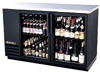 "[ COOLER, BACKBAR, 69""X27""X37"", GLASS DOOR ]"