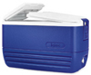 [ IGLOO ICE CHEST,  50 QT., BLUE,PORTABLE ]
