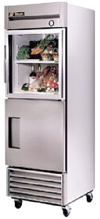 "[ REFRIGERATOR,SO/GL DR.,27""X29-1/2""X78"" ]"