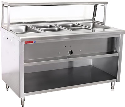 FAST FOOD STYLE ELECTRIC ULNSF Restaurant Equipment And - Restaurant equipment steam table
