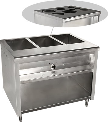 STEAM TABLE ELECTRIC ULNSF Restaurant Equipment And - Restaurant equipment steam table