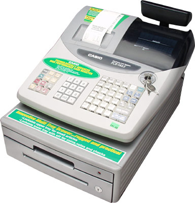 [ CASH REGISTER, 25 CLERKS - TSE ]