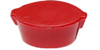 [ SOY SAUCE BOTTLE LID, PLASTIC, RED ]