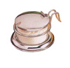 [ CONDIMENT JAR SET, GLASS, WITH S/S LID ]