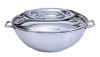 [ CASSEROLE SET, DELUXE STACKING, 28 OZ ]
