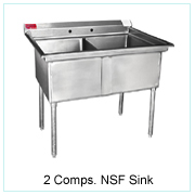 2 Comps NSF Sink