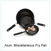 Alum. Miscellaneous Fry Pan