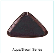 Aqua/Brown Series