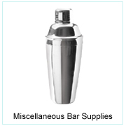 MISCELLANEOUS BAR SUPPLIES