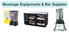 Beverage Equipments & Bar Supplies