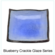 Blueberry Crackle Glaze Series