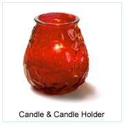 Candle & Candle Holder