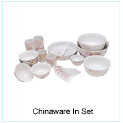 CHINAWARE IN SET