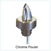 Chrome Pourer