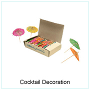 COCKTAIL DECORATION