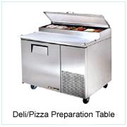 Deli/Pizza Preparation Table