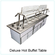 Deluxe Hot Buffet Table