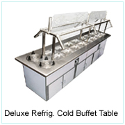 Deluxe Refrig. Cold Buffet Table