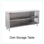 Dish Storage Table