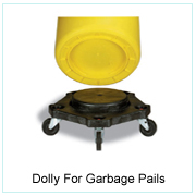 DOLLY FOR GARBAGE PAILS