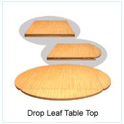 Drop Leaf Table Top