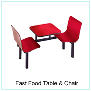 Fast Food Table & Chair