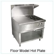 Floor Model-Gas Hot Plate
