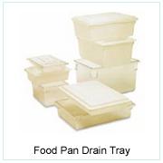 Food Pan Drain Tray