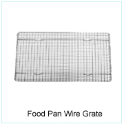 FOOD PAN WIRE GRATE