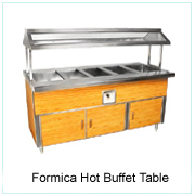 Formica Hot Buffet Table