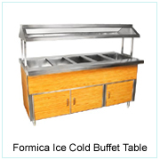 FORMICA ICE COLD BUFFET TABLE
