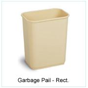 Garbage Pail-Rect.