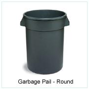 Garbage Pail-Round