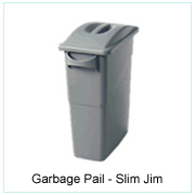 Garbage Pail-Slim Jim