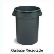 GARBAGE RECEPTACLE