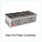 Gas Hot Plate-Countertop