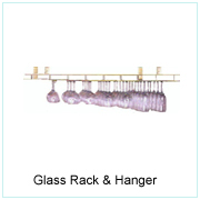 GLASS RACK & HANGER
