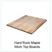 Hard Rock Maple Work Top Boards