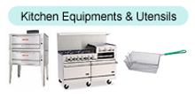 Kitchen Equipments & Utensils