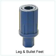 Leg & Bullet Feet