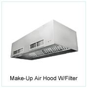 Make-Up Air Hood W/ Filter
