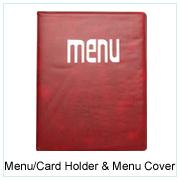 Menu/Card Holder & Menu Cover